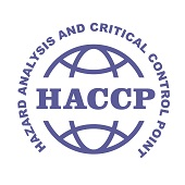 HACCP stamp - Hazard analysis and critical control points emblem